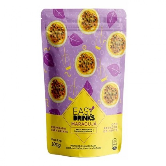 Preparado Easy Drinks Maracujá 100g