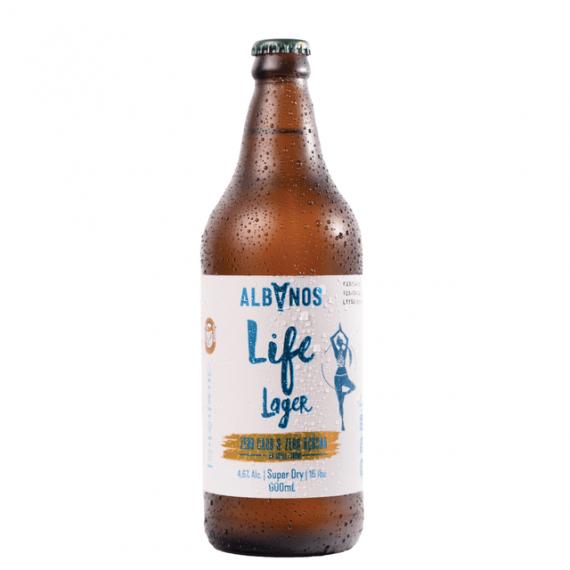Cerveja Albanos Life Larger 600ml
