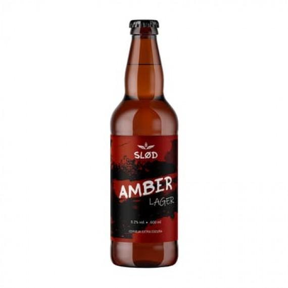 Cerveja Slod Amber Lager 600ml