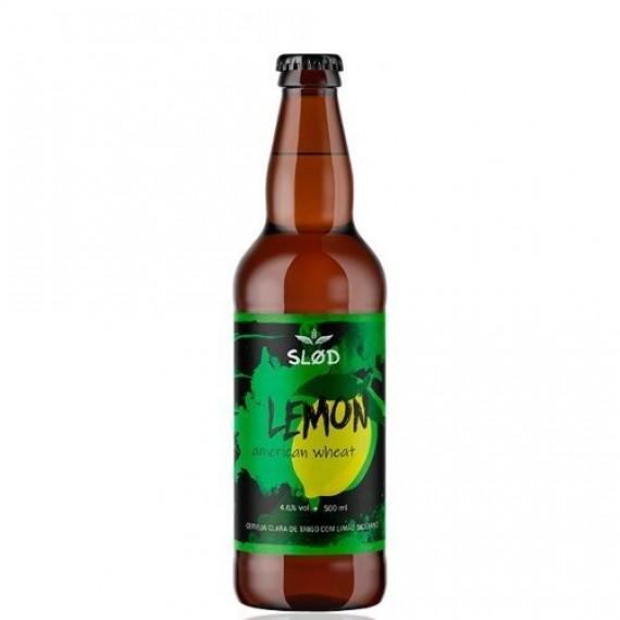 Cerveja Slod American Wheat Lemon 500ml
