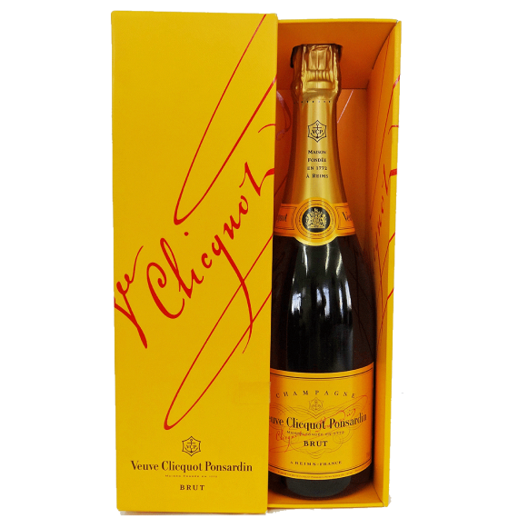 Champ Veuve Clicquout Brut 750ml + Cartucho