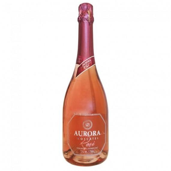 Espumante Aurora Moscatel Rosé 750ml
