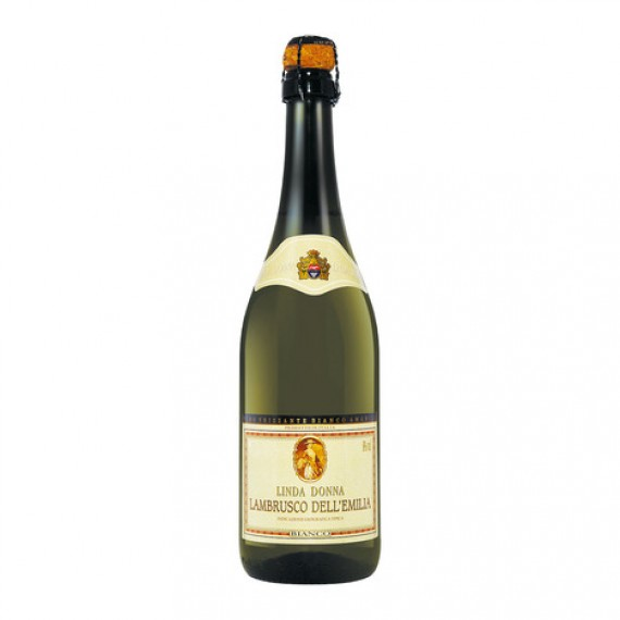 Vinho Frisante Lambrusco Linda Donna Branco 750ml
