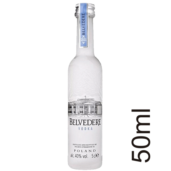 Vodka Belvedere de 50ml