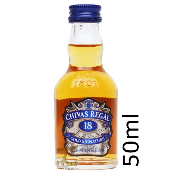 Whisky Chivas 18 anos 50ml - un.