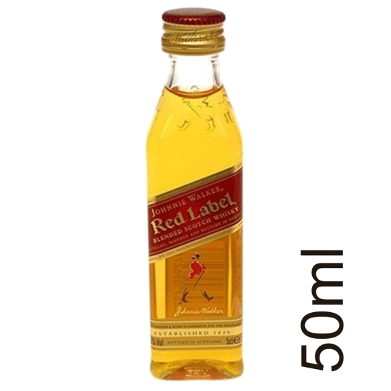 Whisky Johnnie Walker Red Label  50ml
