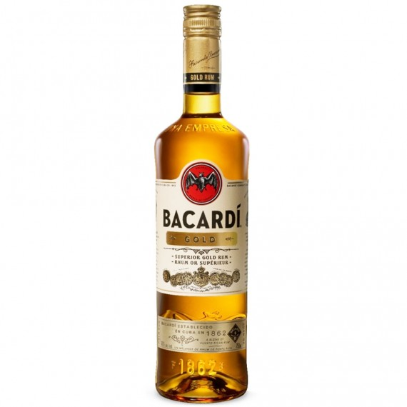 Rum Bacardi Gold (Oro) 980ML