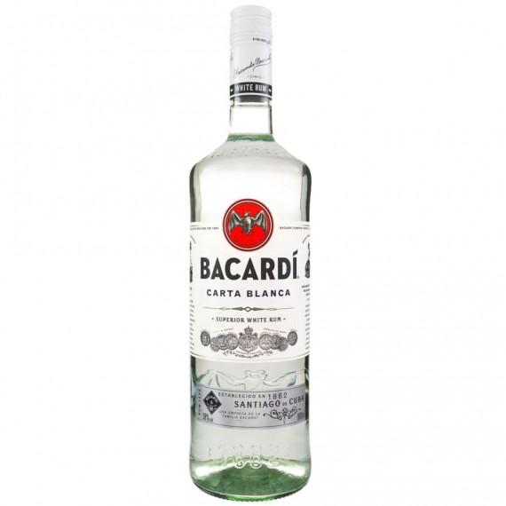 Rum Bacardi Prata 980ML