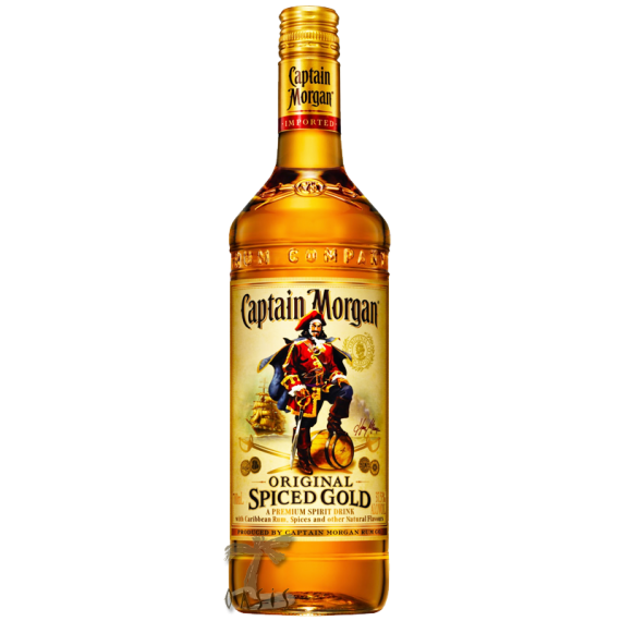 Rum Capitan Morgan Spiced Gold 750ml