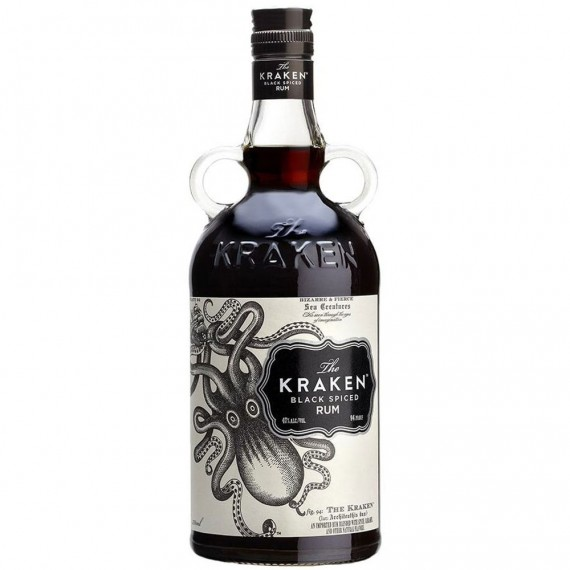 Rum The Kraken Black Spiced 750ml