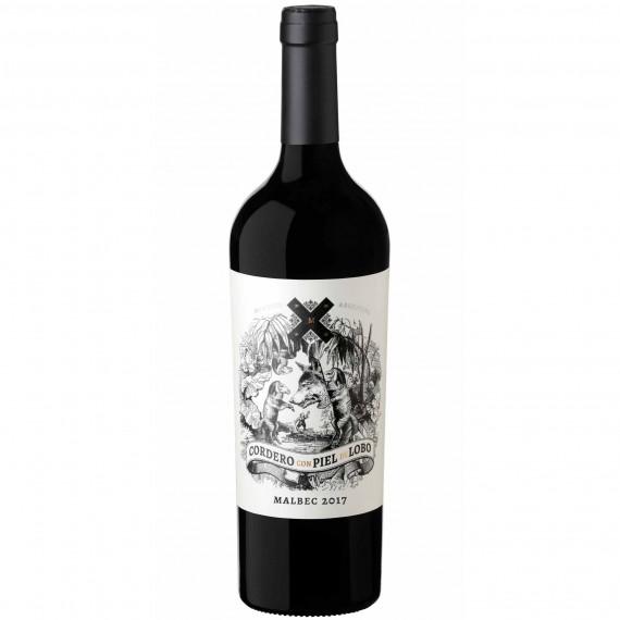 Vinho Cordero con Piel del Lobo Malbec 750ml