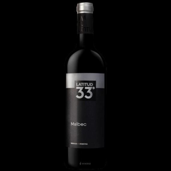 Vinho Latitude 33 Malbec 750ML