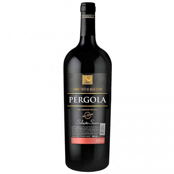 Vinho Pérgola Tinto 1Litro