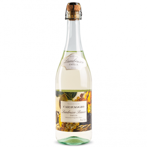 Vinho Lambrusco Caravaggio Branco 750ml