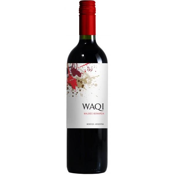 Vinho Argentino Waqi Malbec/Bonarda 1,125l