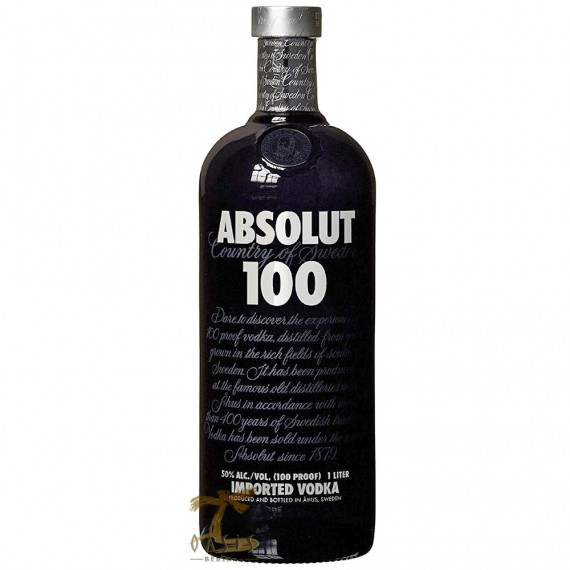 Vodka Absolut 100 de 1Litro