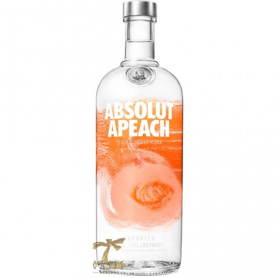 Vodka Absolut Apeach / Pêssego 1L