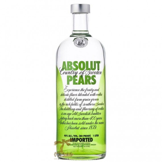 Vodka Absolut Pears 1L