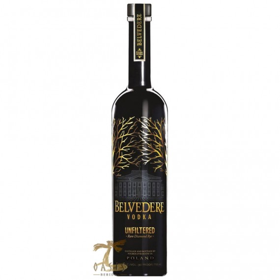 Vodka Belvedere Unfiltered 700ml Luxury