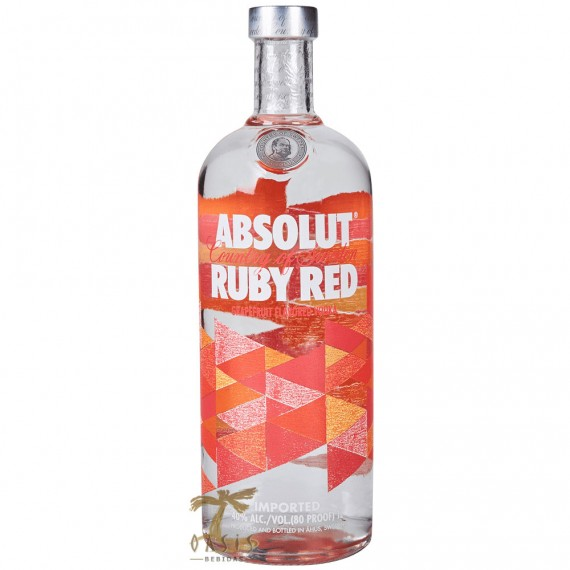 Vodka Absolut Ruby Red