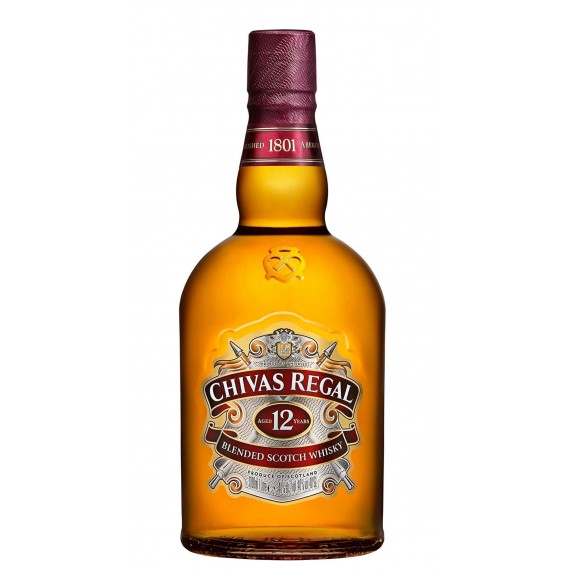 Whisky Chivas 12 Anos 750ML