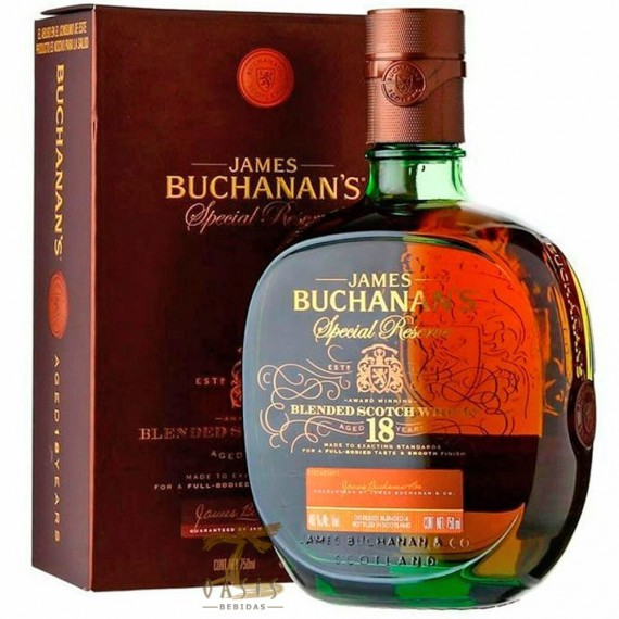 Whisky Buchanans 18 anos 750ml