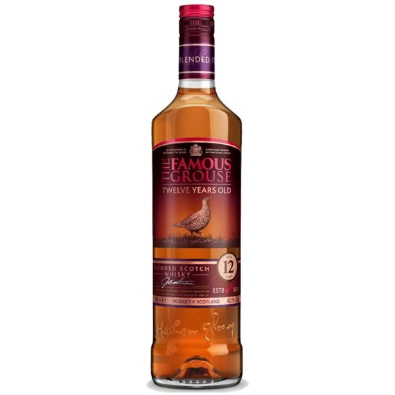 Whisky The Famous Grouse 12 anos 700ml