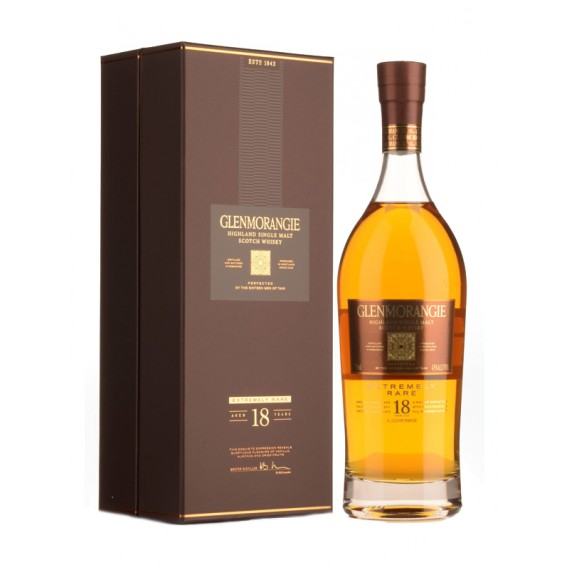 Whisky GlenMorangie 18 anos Extremely Rare Single Malt 750ml