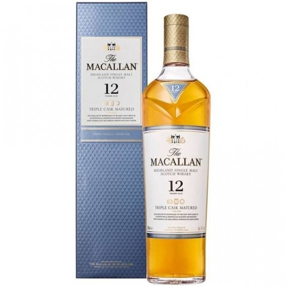 Whisky The Macallan Triple Cask Fine Oak 12anos 700ml