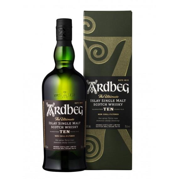 Whisky Ardbeg 10 anos Single Malt 750ml