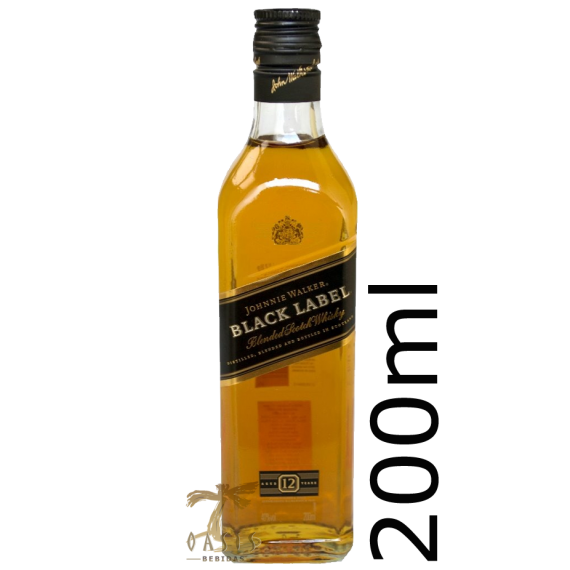 Whisky John Black Label 12 anos 200ml