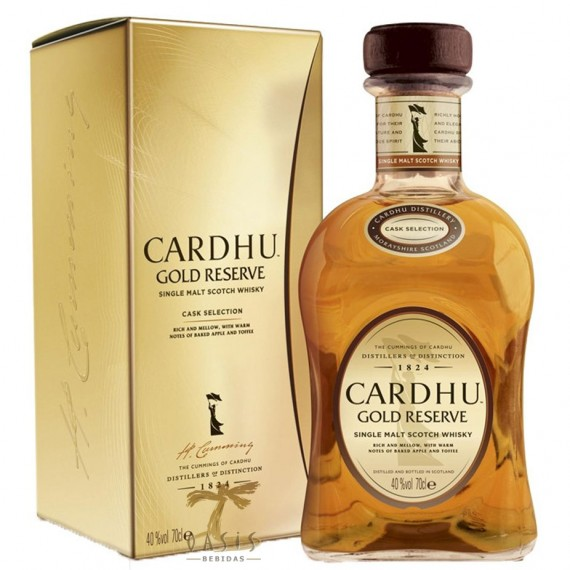 Whisky Cardhu Gold 700ml Single Malt