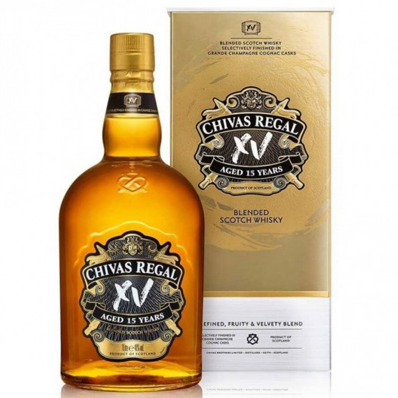 Whisky Chivas 15 anos 750ml