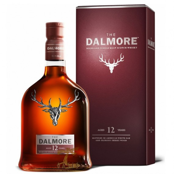Whisky Dalmore 12 anos Single 700ml
