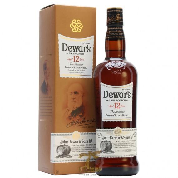 Whisky Dewars 12anos 1L