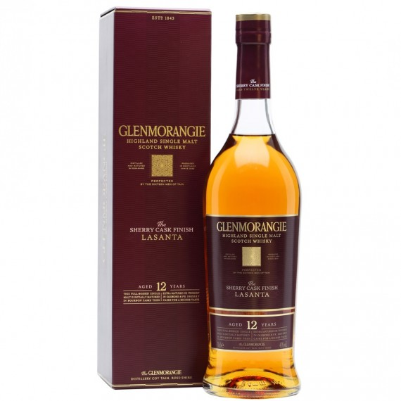 Whisky Grenmorangie Lasanta 12a single Malt 700ml