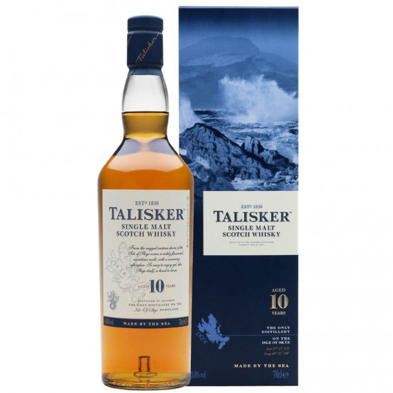 Whisky Talisker 10 anos 700ml