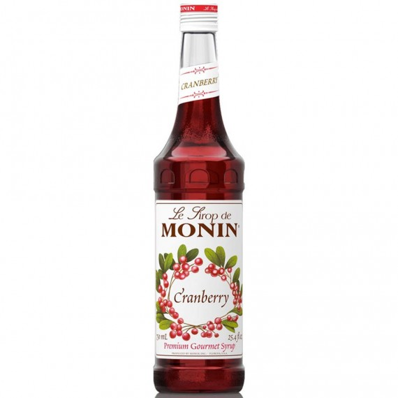 Xarope Monin Cranberry 700ml Soda Italiana