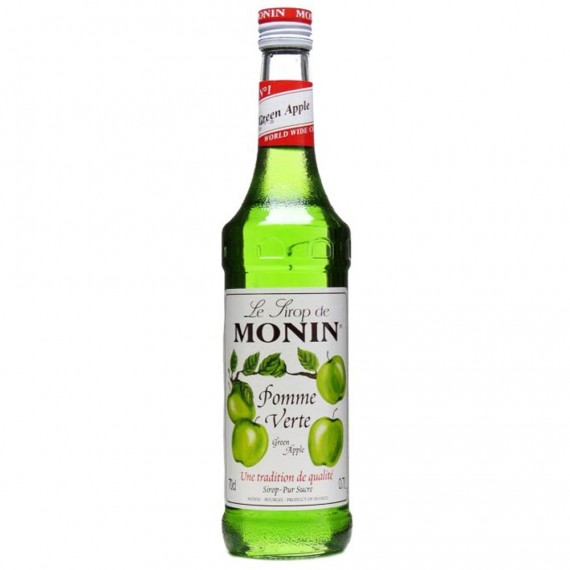 Xarope Monin Maça Verde 700ml Soda Italiana