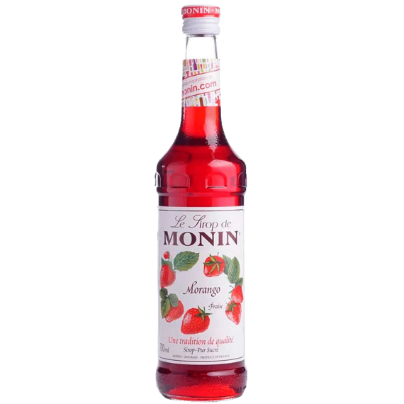 Xarope Monin Morango 700ml Soda Italiana