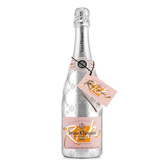 Champagne Veuve Clicquot  Rich Demi Sec Rose 750ml